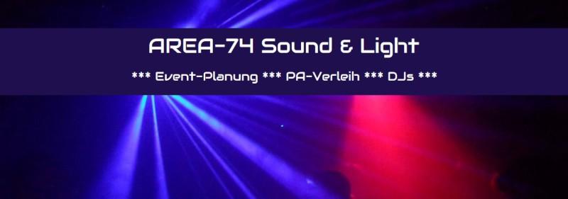 AREA-74 DJ und PA-Verleih