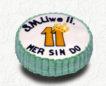 Logo-Eistorten Firmenfeier